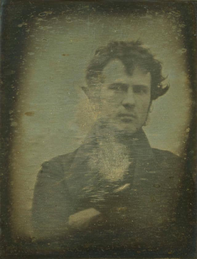 The first self-portrait in the world